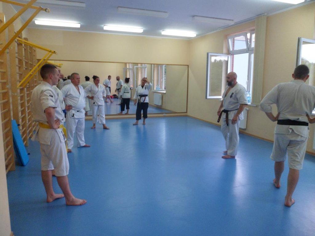 18 Obóz letni Kyokushin Andrespol Kokoro Dojo Musiński,Ubowska, Bazelak, Bińczak,Kubiak