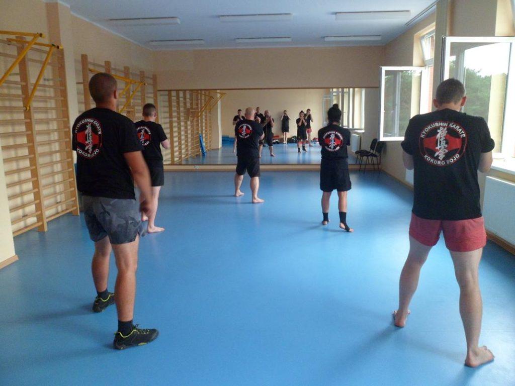 2 Obóz letni Kyokushin Andrespol Kokoro Dojo