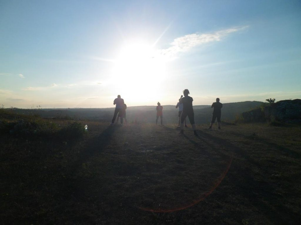 5 Obóz Kyokushin Andrespol Dojo Kokoro Bazelak, Ubowska, Bińczak, Musiński, Kubiak (Copy)